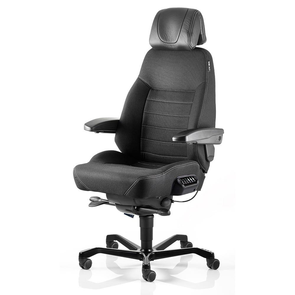 Uredska stolica ACS EXECUTIVE za 24 satnu upotrebu eko koža