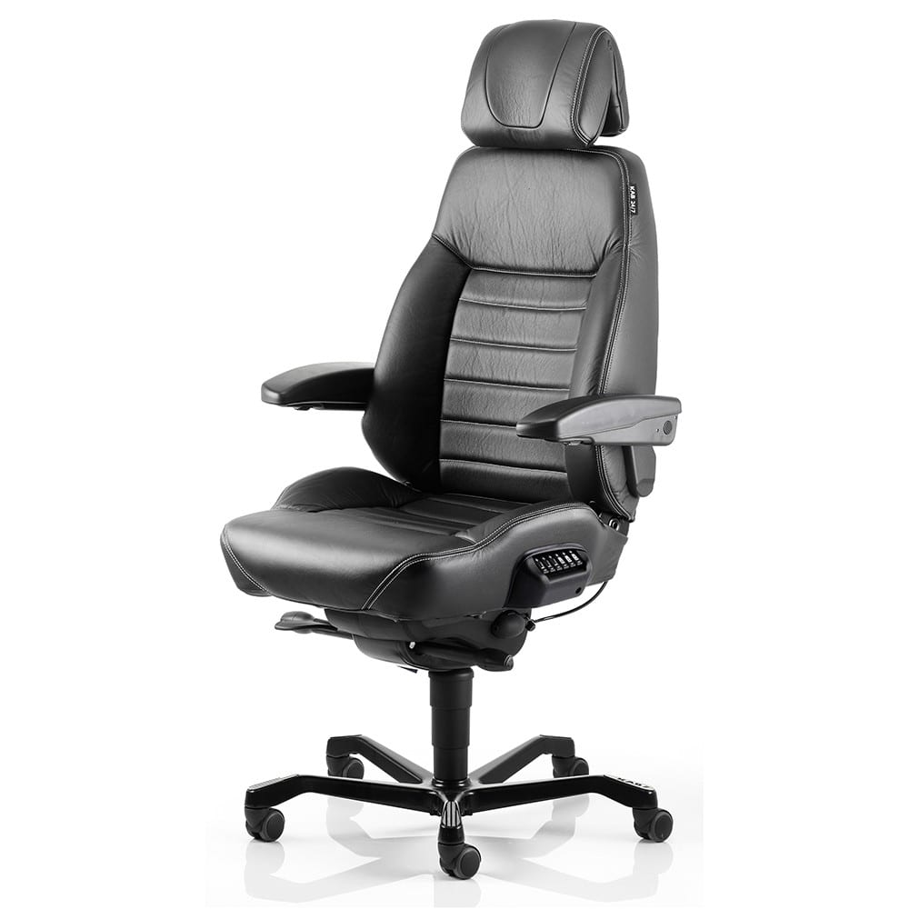Uredska stolica ACS EXECUTIVE za 24 satnu upotrebu koža