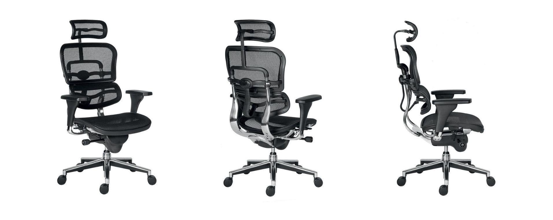 ERGOHUMAN Visokokvalitetna menadžerska uredska stolica